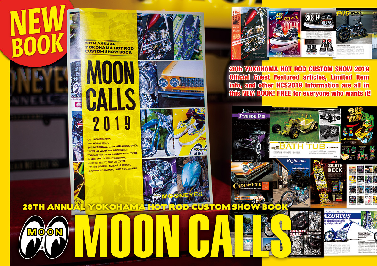 28th Annual Yokohama HOT ROD CUSTOM SHOW BOOK MOON CALLS