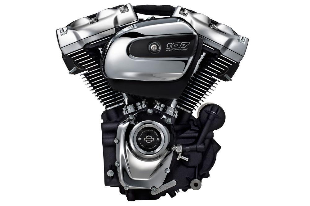 Harley-Davidson Japan ブースにて、新型エンジンが登場