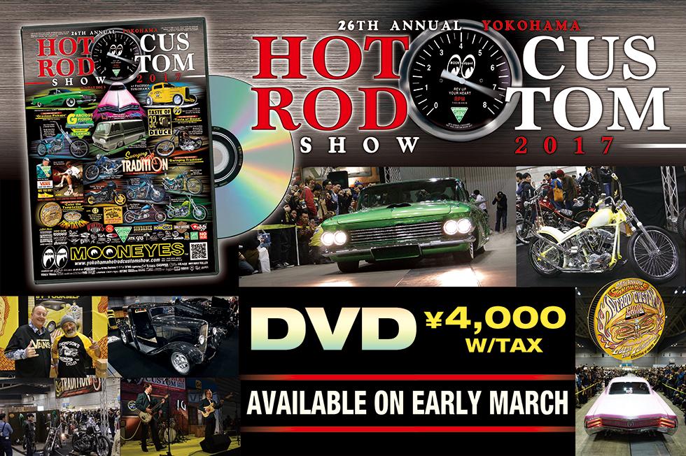 26th Annual YOKOHAMA HOT ROD CUSTOM SHOW 2017 DVD