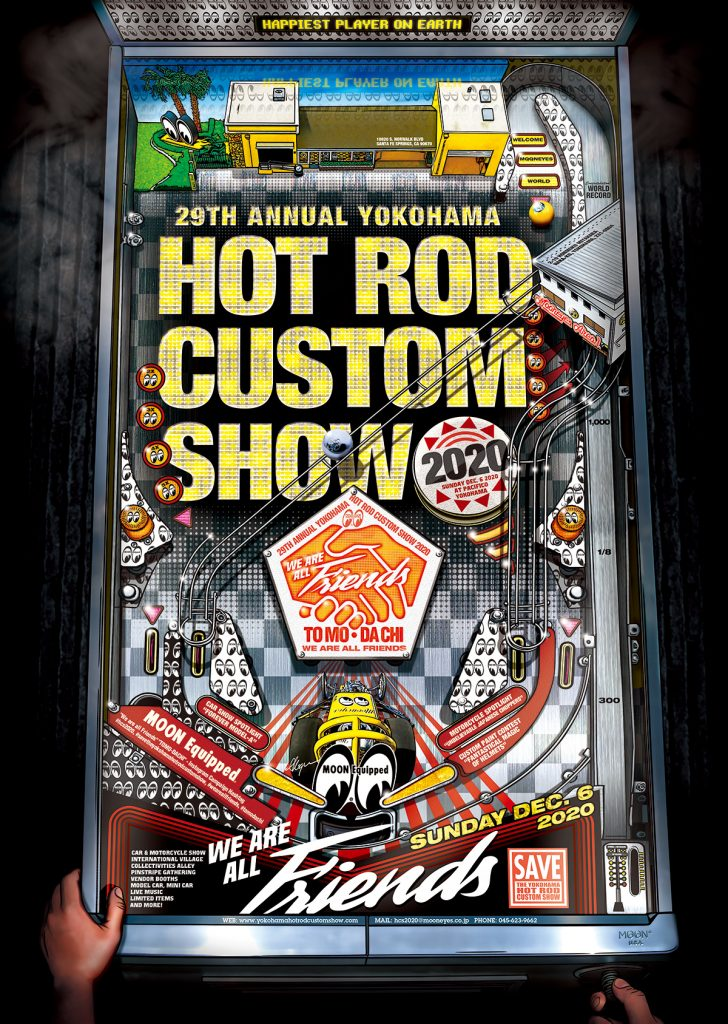 29th Annual YOKOHAMA HOT ROD CUSTOM SHOW 2020