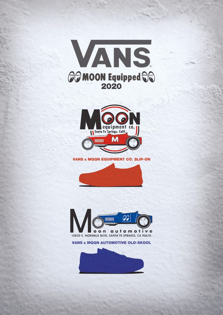 VANS x MOON Equipped Special Collaboration Shoes